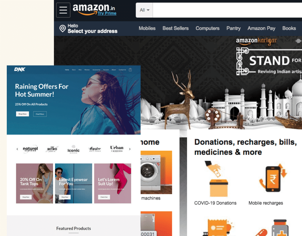 create your free amazon affiliate store website in India 2020