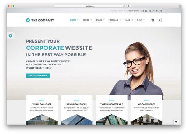 Responsive Business WordPress Themes