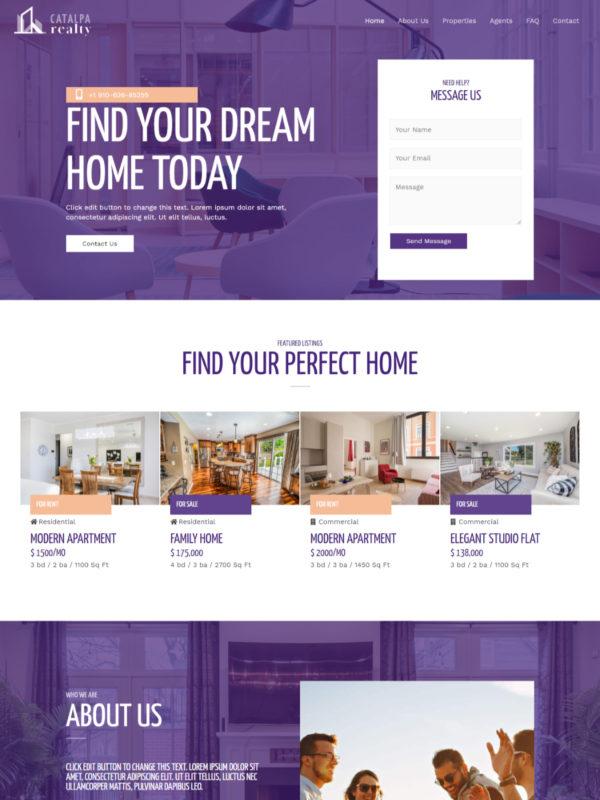 real estate home screenshot 600x800 1